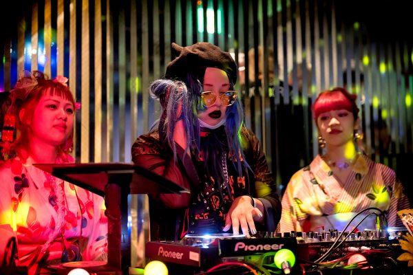 Tokyo Fashion Snaps at Fanatic Magazine Party, Summer 2017