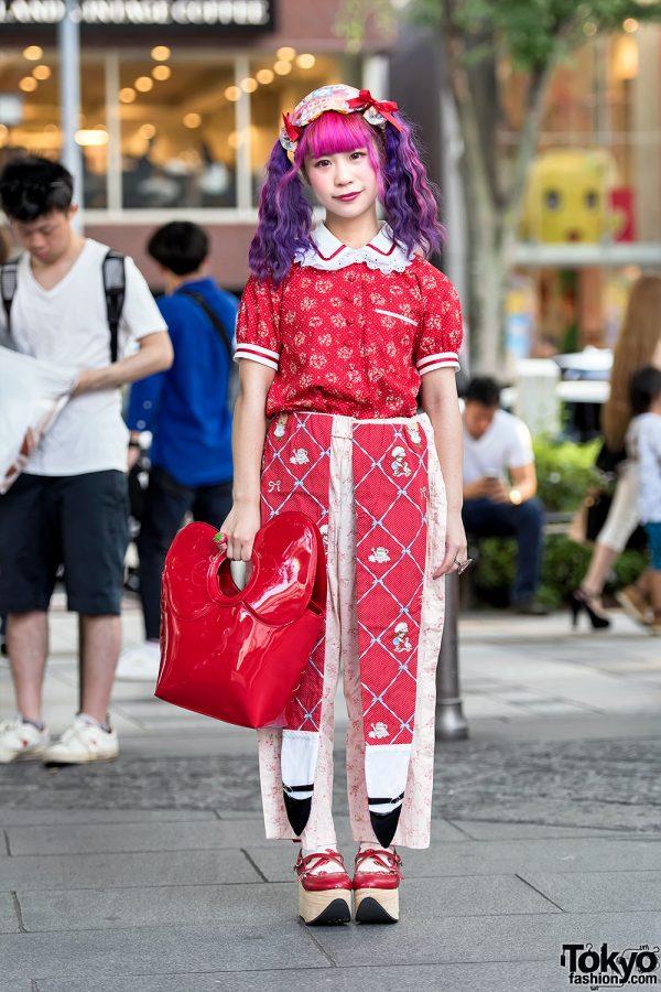 Colorful Twintails & Kawaii Harajuku Street Fashion w/ Jenny Fax, 6%DOKIDOKI & Hello Kitty