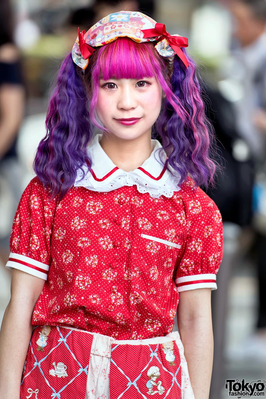 Colorful Twintails & Kawaii Harajuku Street Fashion w ...