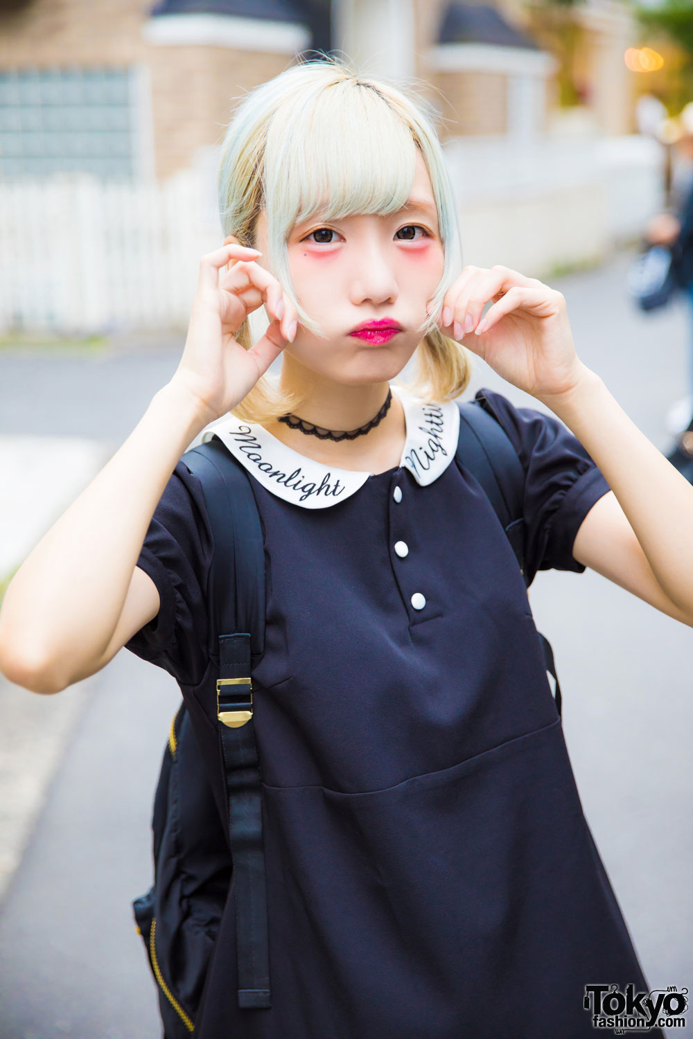 Cy8er Idol Rinahamu In Harajuku W Dark Romantic Bubbles