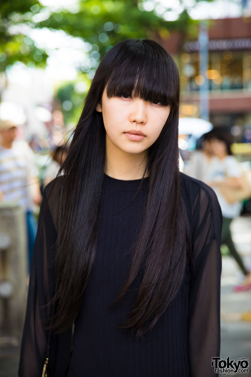 Long hair asian doctor sissy