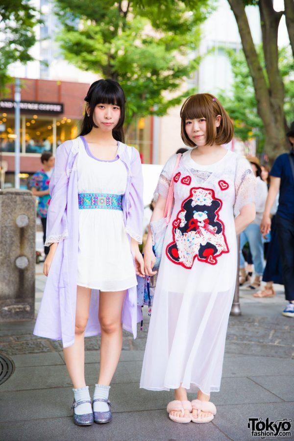 Lingerie As Outerwear Styles w/ RoseMarie Seoir, Jenny Fax, AkikoAoki, Keisuke Kanda, Rinrinka & Tokyo Bopper