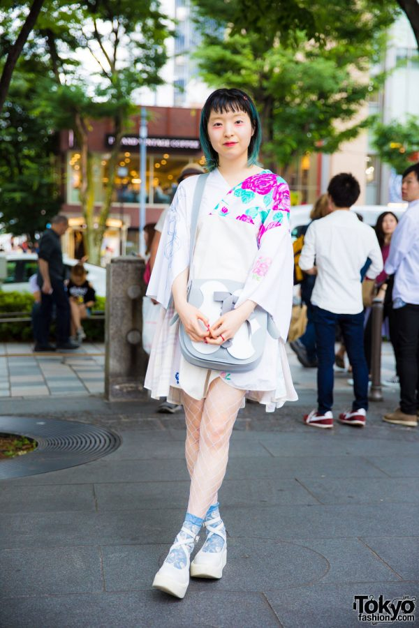 Floral Street Style in Harajuku w/ Yeah Right, Tokyo Bopper, Anna Sui & Roro Nail