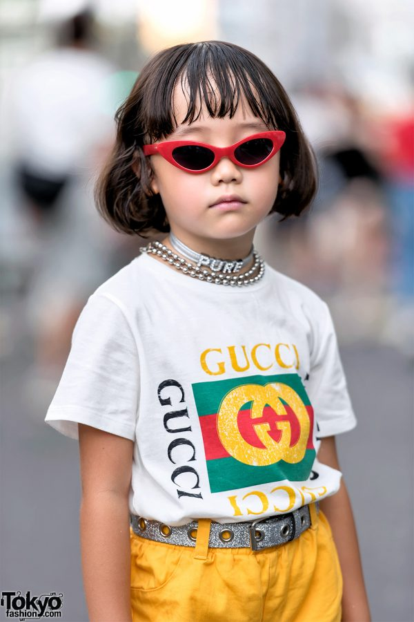 Checkerboard Hairstyle: 6-year-old Coco Princess & Her Mom In Harajuku W