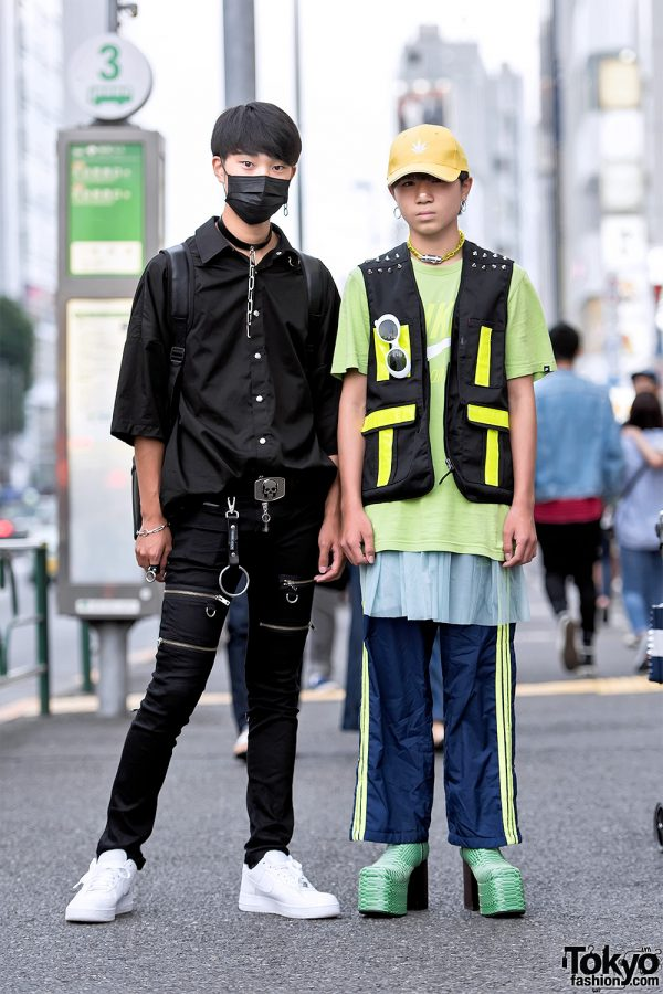 Harajuku Guys Street Styles w/ Never Mind The XU, Another Youth, Nyulycadelic & Handmade Items