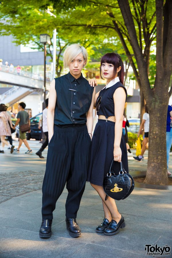 Monochrome Japanese Street Styles w/ Issey Miyake, Shinya Yamaguchi, Raf Simons, Vivienne Westwood & Eatme