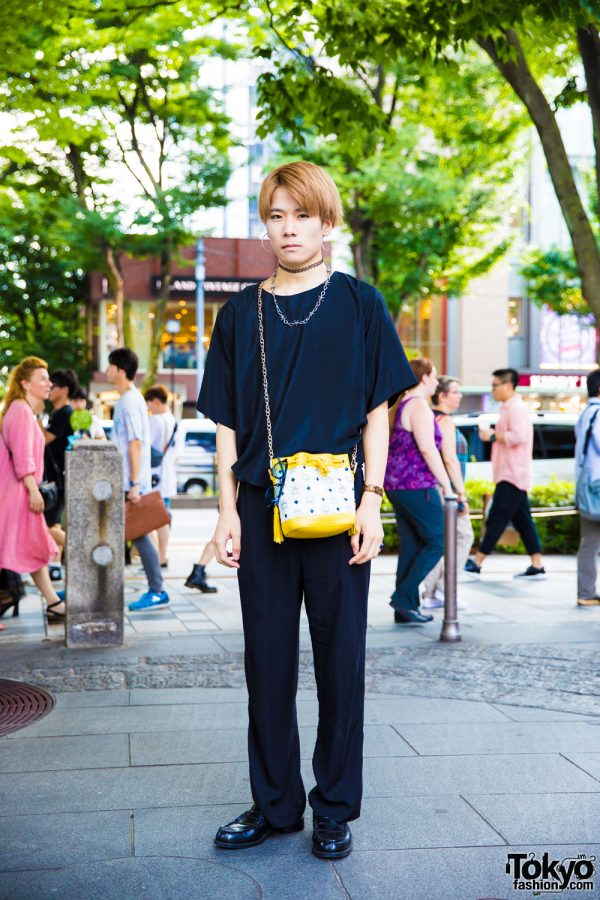 Black Street Style in Harajuku w/ MCM, Eclasion, Hare & Never Mind The XU