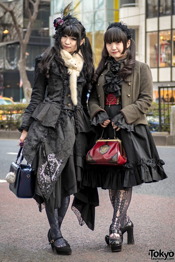 Gothic Lolita Fashion in Harajuku w/ H.Naoto, Axes Femme, Baby The Stars Shine Bright, Victorian Maiden, Abilletage, Yosuke & Artherapie