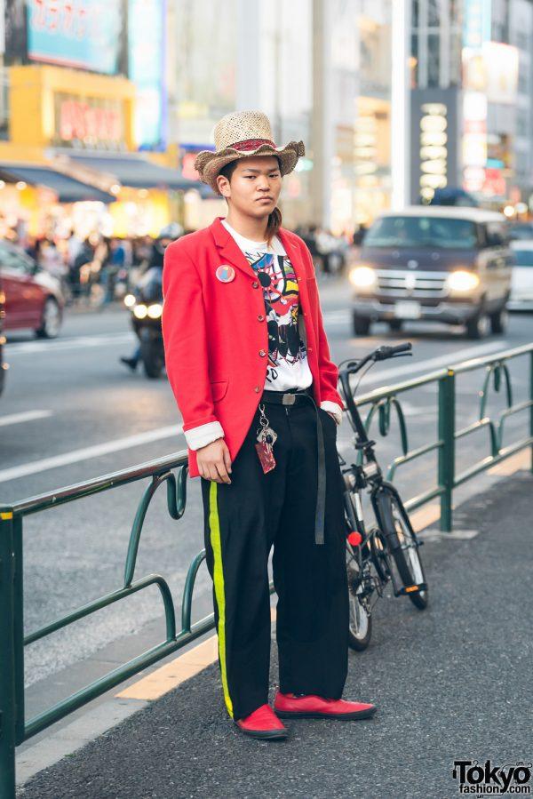 Harajuku Streetwear Style w/ Comme des Garcons Homme Plus & Taro Okamoto