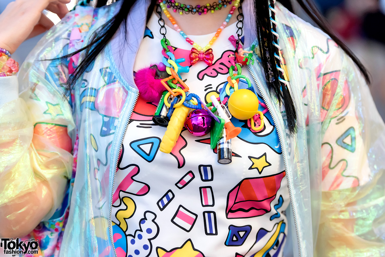 Kawaii Harajuku Street Fashion W/ Galaxxxy, 6%DOKIDOKI