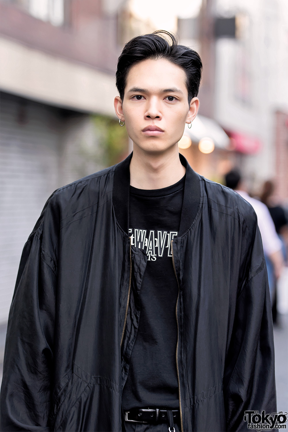 Harajuku Male Models Wearing Lad Musician Dior Homme And Vintage Fashion
