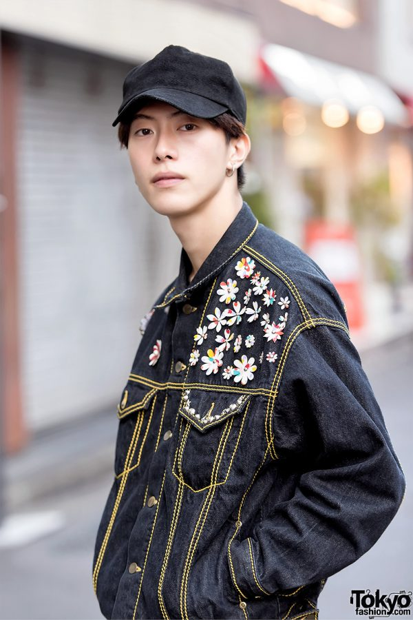 Harajuku Male Models Wearing Lad Musician Dior Homme And