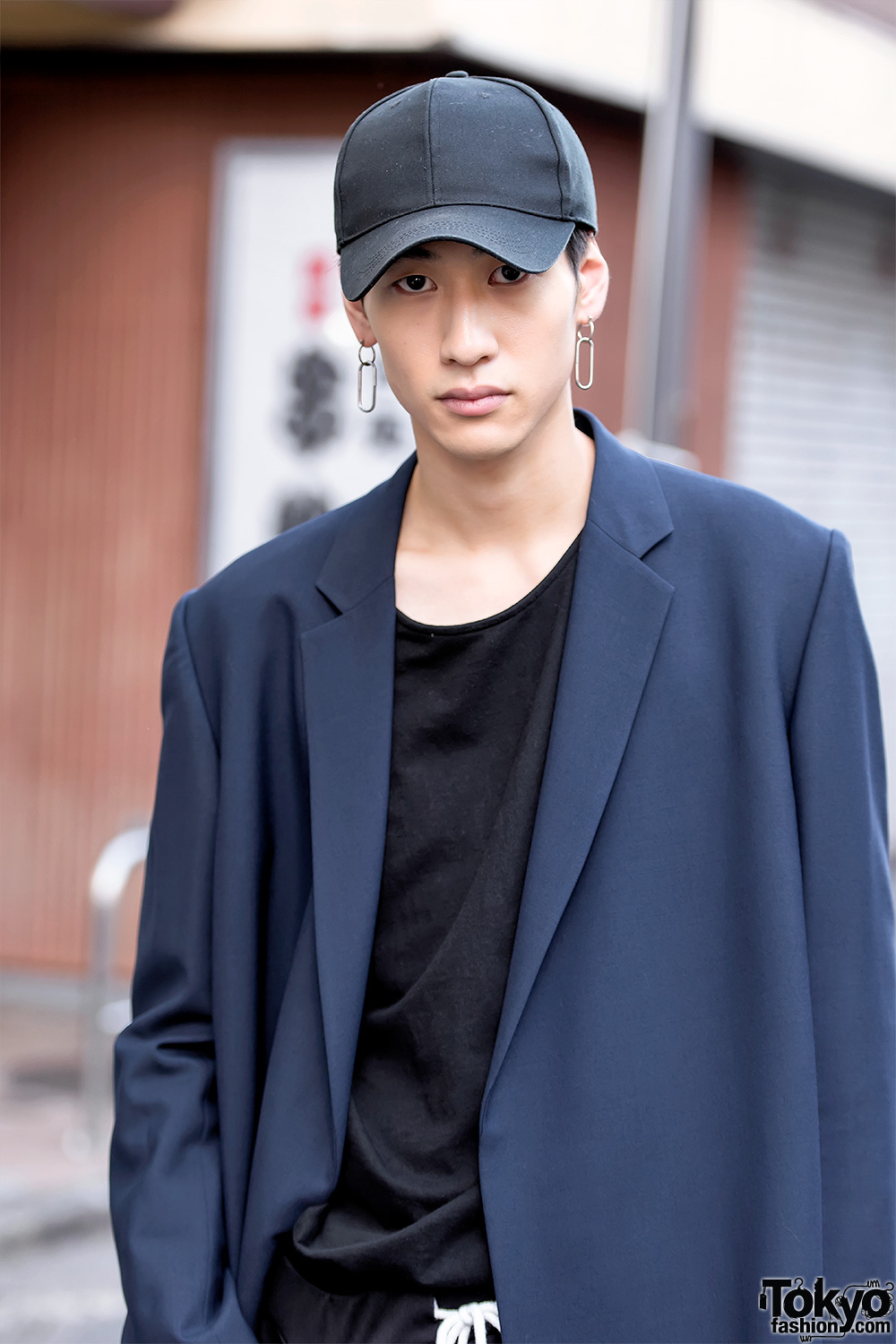 Japanese lad wearing denim