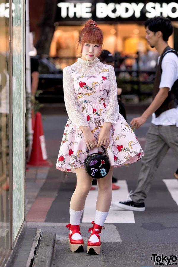 Kawaii Harajuku Street Style With Milk, Vivienne Westwood Rocking Horse Shoes & Baby The Stars Shine Bright