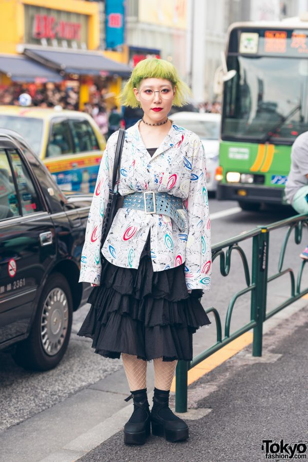 Harajuku Designer Street Style w/ OTOE, Tokyo Bopper, Shiho Tabei & Sunao Kuwahara