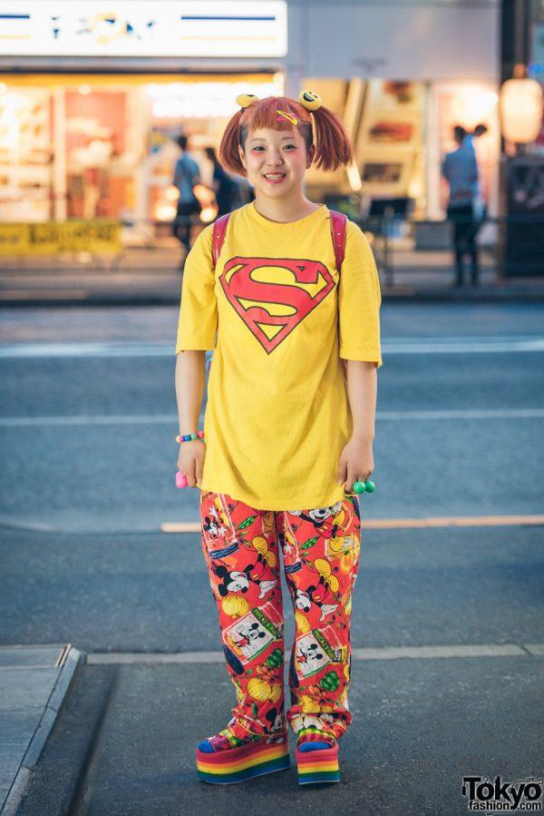 Kawaii Street Fashion in Harajuku w/ 39mart, Kinji, Candy Stripper, Claire's & Flying Tiger
