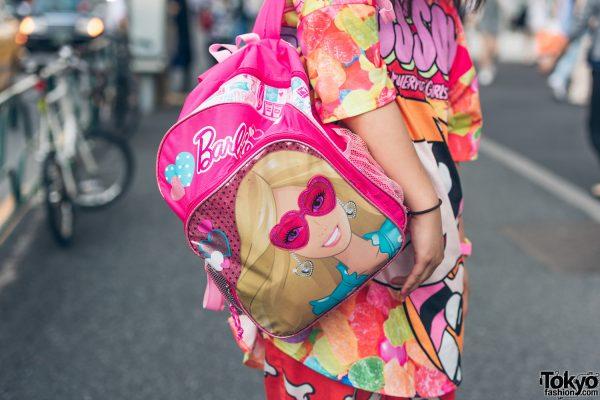Kawaii Street Style W/ Powerpuff Girls X ACDC Rag