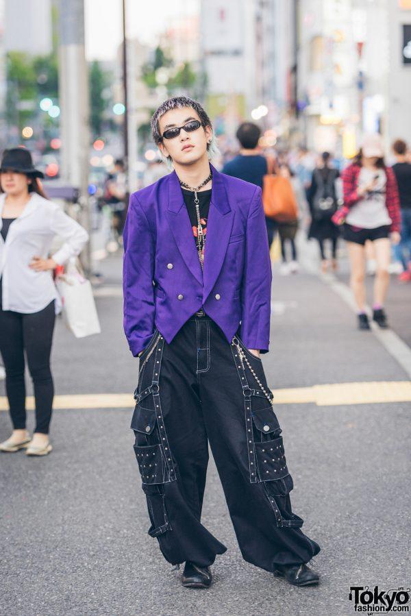 Tokyo Guy's Streetwear Style w/ Kinji Harajuku, Jean Paul Gaultier, Dolce & Gabbana & Dior