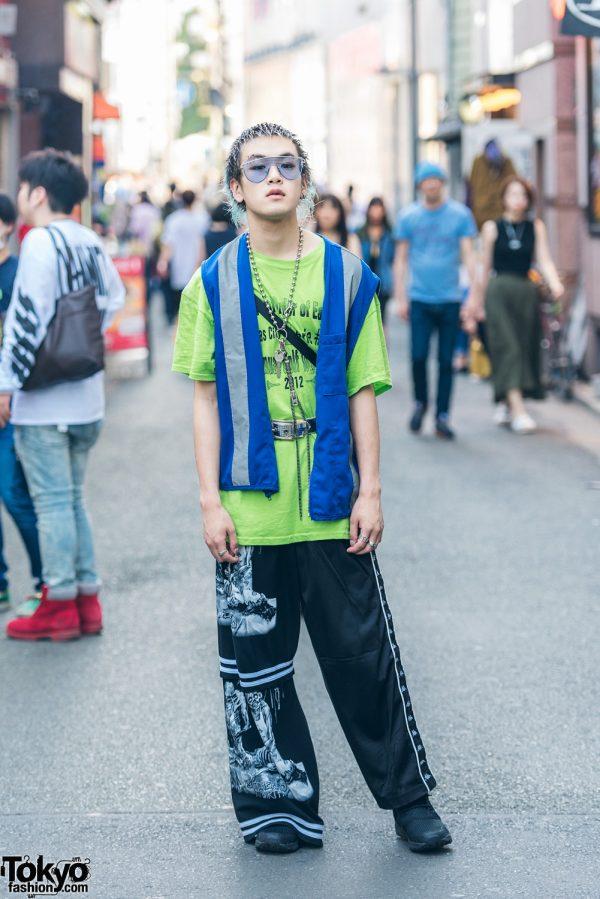 Harajuku Streetwear Fashion w/ L.T., Dog Harajuku, Reebok & Pin Nap