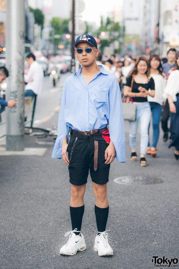 Harajuku Guy Street Style w/ Faith Tokyo, H&M, ASICS & Nike