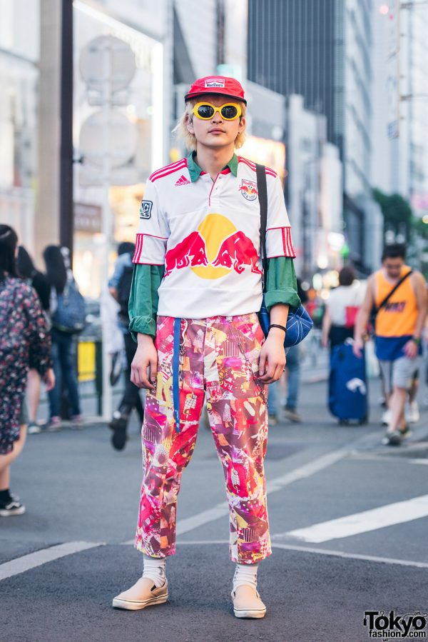Sporty Street Style in Harajuku, Japan w/ Comme des Garcons, Vans & Adidas