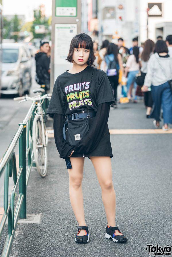 Harajuku Street Style w/ FRUiTS Magazine x Opening Ceremony, Kujaku & Nike Air Rift