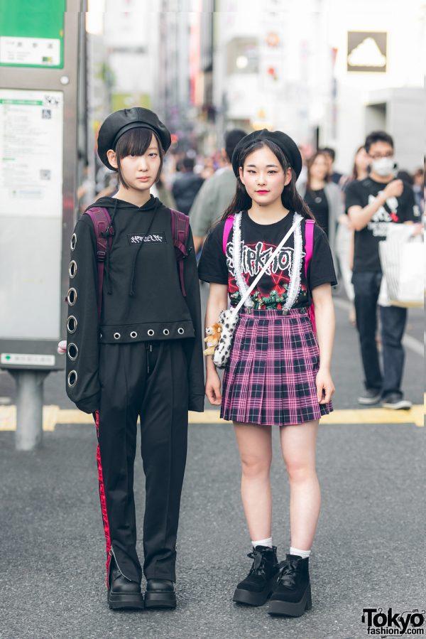 Harajuku Girls Street Styles w/ Slipknot, Never Mind the XU, Bubbles, Peco Club & Demonia