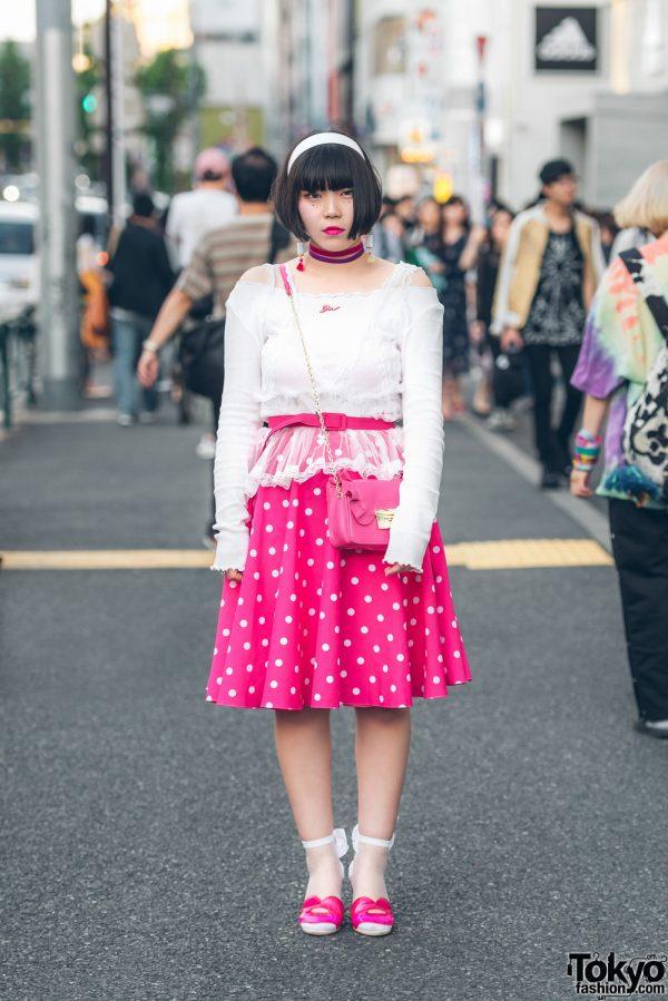 Ladies Street Style in Harajuku w/ One Spo, Spinns, Lil Lilly, Yozigen Niihao & Nadia