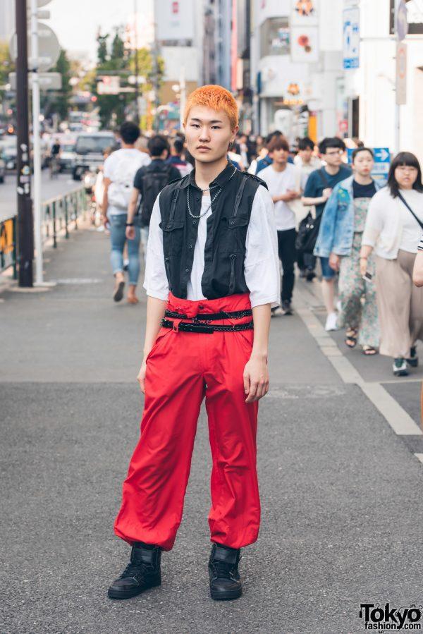 Harajuku Fashion Student in Japanese Streetwear by John Lawrence Sullivan & Unused