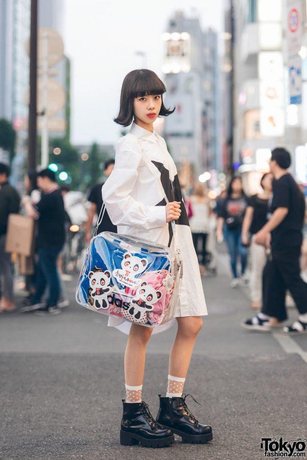 Tokyo Tokimeki Panda Designer in Harajuku w/ Panda Bag, Converse & Gallerie