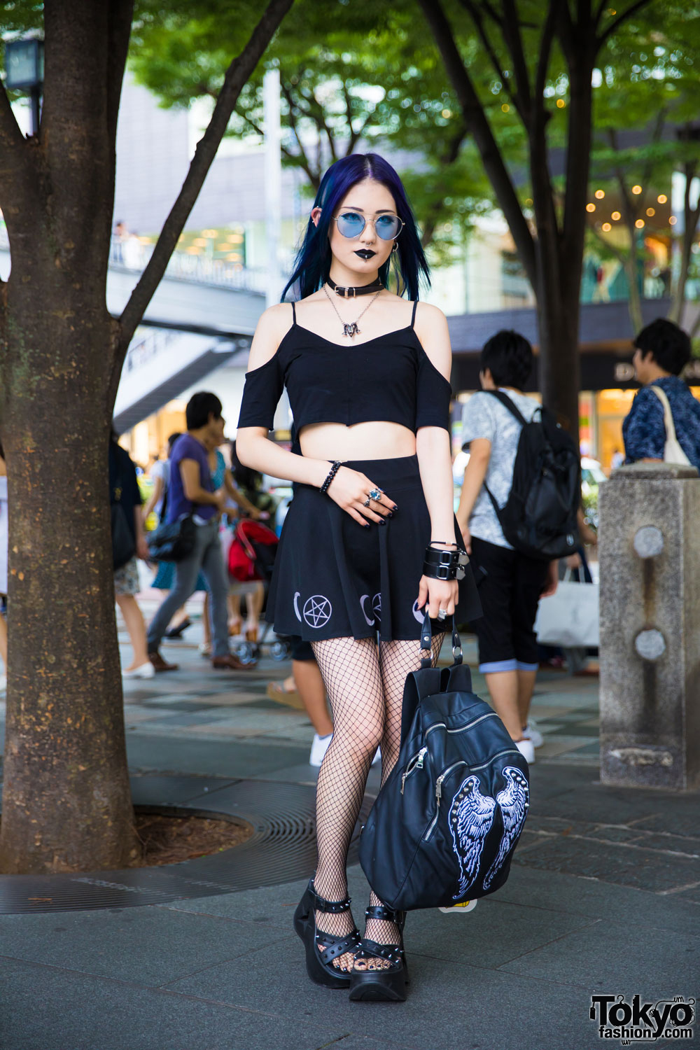 Gothic Japanese Street Style W Noise And Kisses Demonia Glad News Never Mind The XU Bubbles Vivienne Westwood