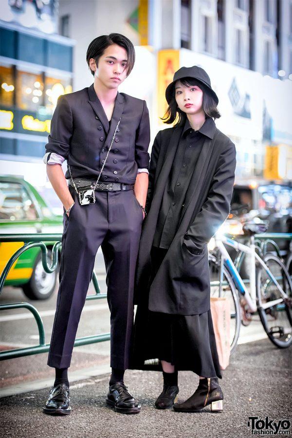 Dark Japanese Street Styles w/ Yohji Yamamoto, Lad Musician, Ann Demeulemeester & Alexander McQueen