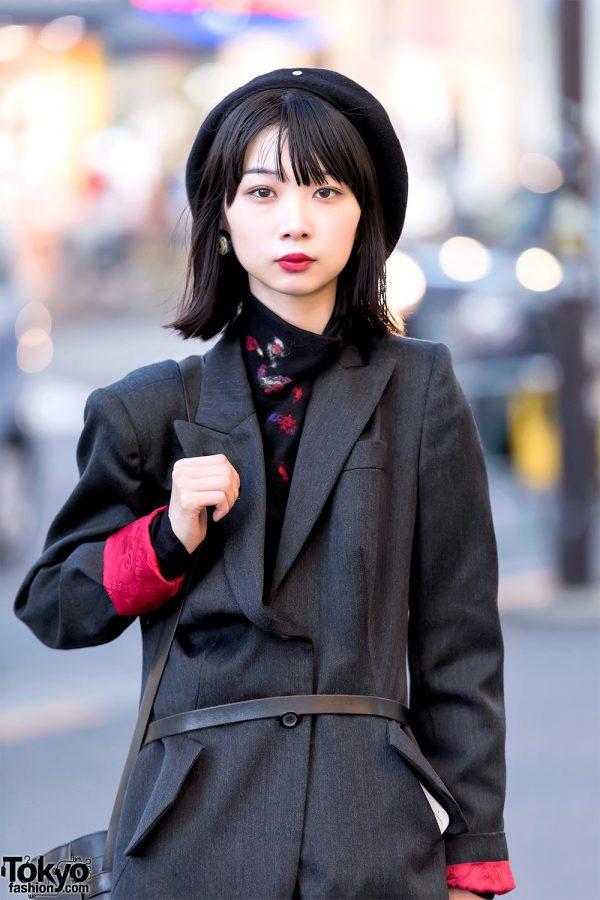 Dark Japanese Street Style W Alexander Mcqueen Yohji Yamamoto Kujaku