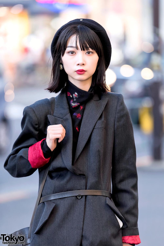 Dark Japanese Street Style w/ Alexander McQueen, Yohji ...