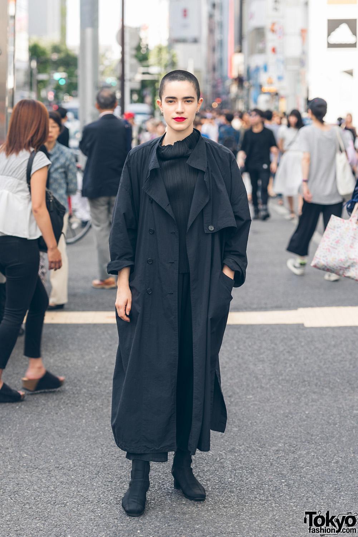 Harajuku Punk Wearing Studded The Clash Vest 666 Japan Denim Dr Martens