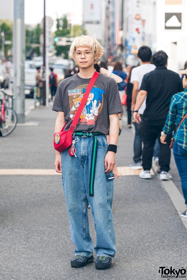 Harajuku  Street Style w/ Sonic the Hedgehog, Tommy & Nike