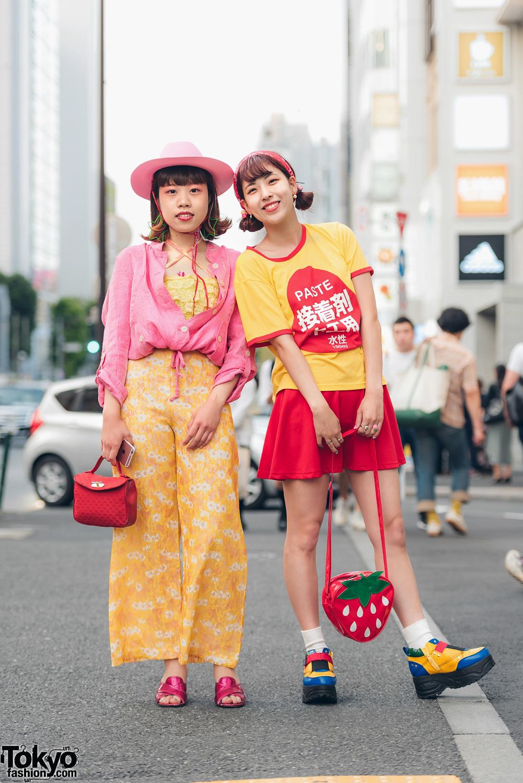Harajuku Girls Street Styles W Morph8ne Peco Club