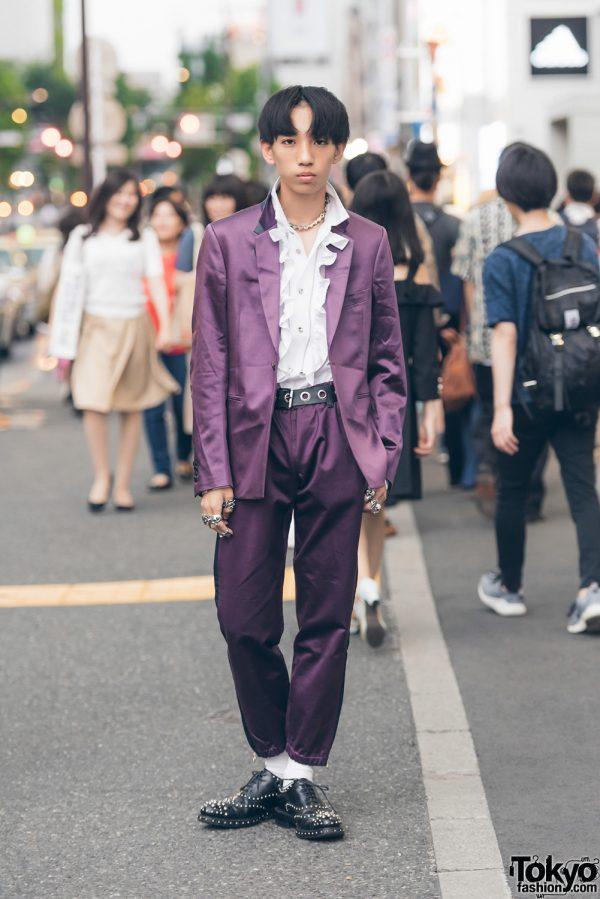 Harajuku Men's Suit Fashion w/ Paul Smith, Cyber Dyne, Prada & Tokyo Human Experiments
