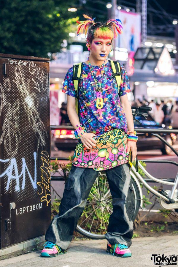 Neon Kawaii Harajuku Street Style w/ 6%DOKIDOKI, Space Tribe & Cyberdog