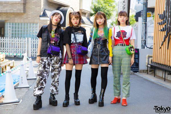 Harajuku Girls Streetwear w/ Faith Tokyo, Open The Door, Bubbles, 7% More Pink, Kiko x UNIF & WEGO