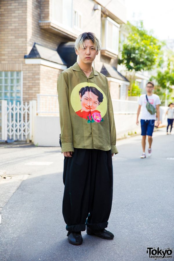 0.14 Harajuku Vintage Shop Owner in Yohji Yamamoto, Issey Miyake & Maison Margiela