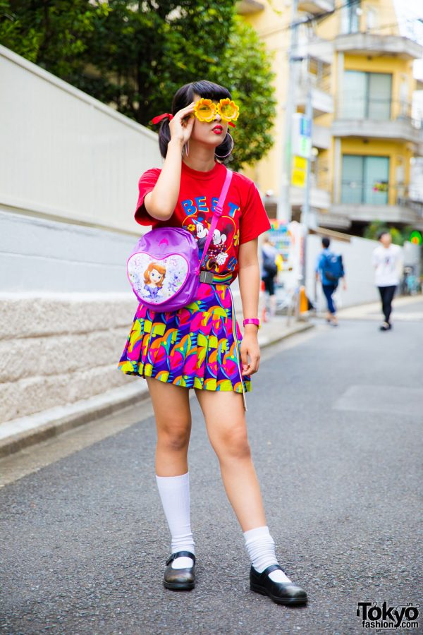 Colorful Print Fashion in Harajuku w/ Chicago, Kinji, B Kids & WC