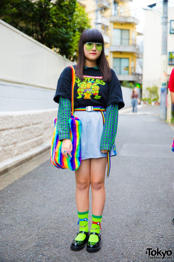 Teenage Mutant Ninja Turtles Street Style in Harajuku w/ Kinji, Peco Club & Kobinai