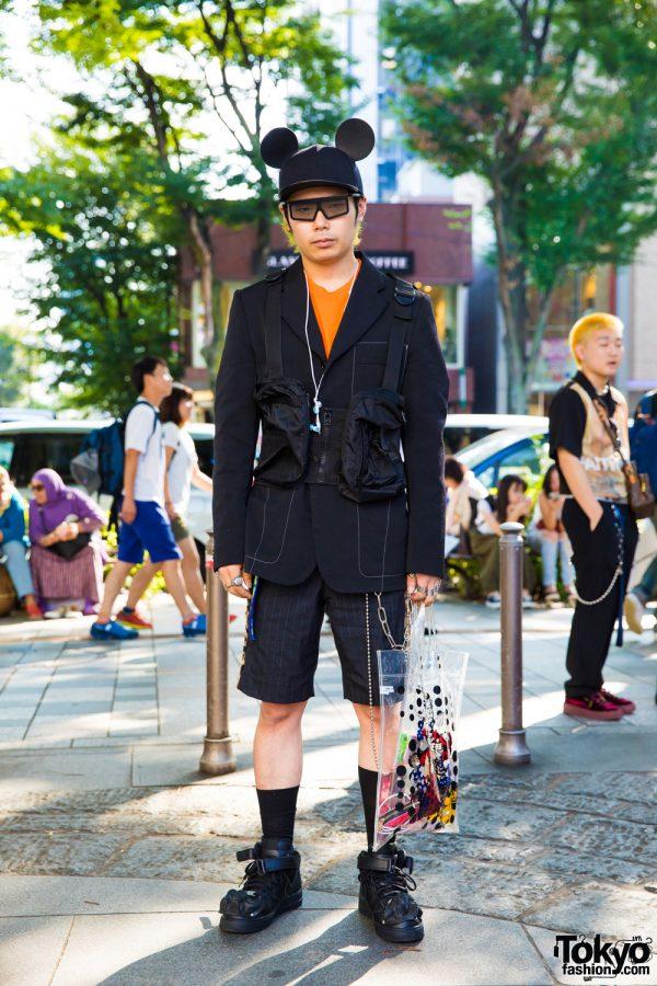 Comme des Garcons Homme Plus Streetwear Style in Harajuku w/ Christian Dada, Faith Tokyo, Maison Margiela, Chrome Hearts & Dover Market