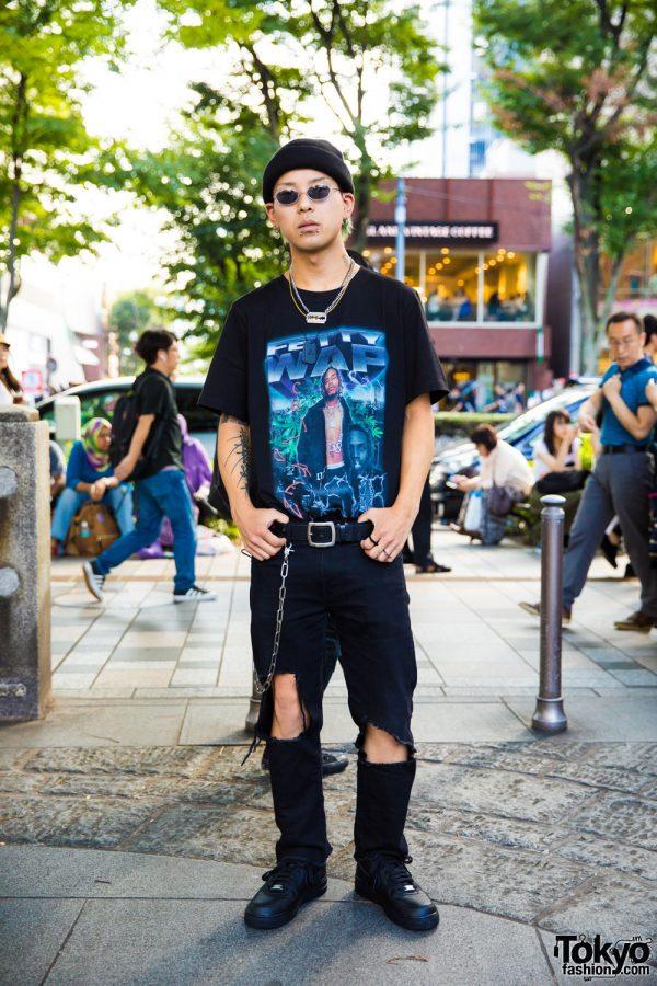 Harajuku Street Style w/ Fetty Wap Tee, Venturer, Open The Door & Nike