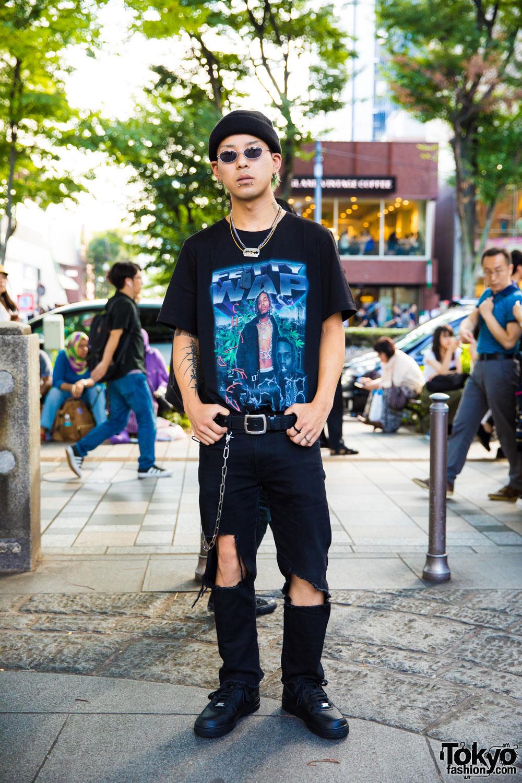 Harajuku Street Style w/ Fetty Wap Tee, Venturer, Open The