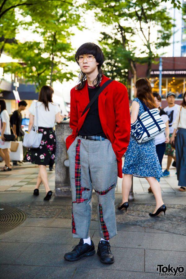 Japanese Streetwear Style w/ Jean Paul Gaultier, Yohji Yamamoto, Comme des Garcons Homme Plus, Reebok & Funktique