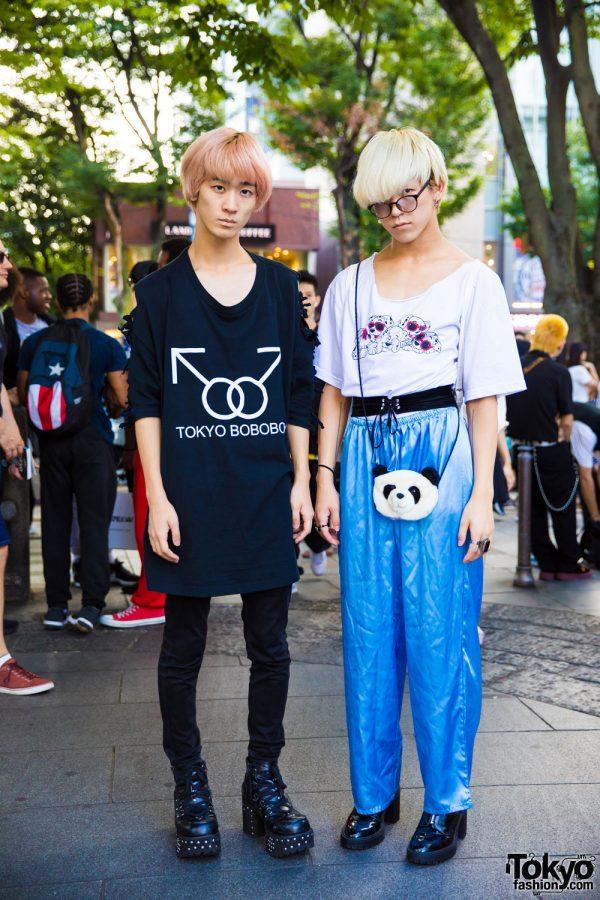 Harajuku Dancer Street Styles w/ TOKYO BOBOBOY, Never Mind the XU & Yosuke