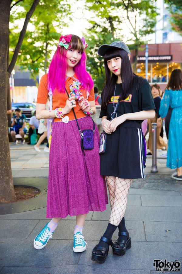 Colorful Kawaii Fashion vs Dark Harajuku Street Style w/ 6%DOKIDOKI, Faith Tokyo, 7% More Pink, WC & Sakura Pop Candy