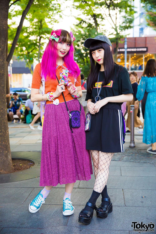6231fe135d2c Colorful Kawaii Fashion vs Dark Harajuku Street Style w/ 6%DOKIDOKI, Faith  Tokyo, 7% More Pink, WC & Sakura Pop Candy